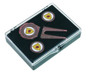 Golf Tee Gift Set Hinged Box - RPB2R
